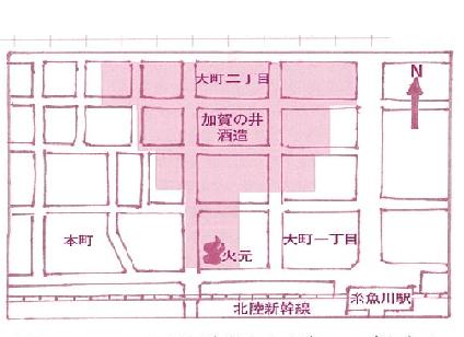 糸魚川地図